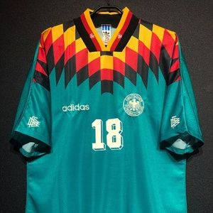 1994-96 Germany Away Shirt Klinsman 18 All Sizes